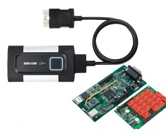 Сканер Autocom CDP+ Bluetooth/USB двухплатный Профессиональный OBD2 (В