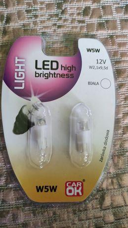 Żarówki LED C5W i W5W 12v