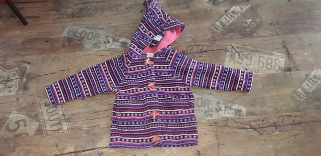 Jojo maman bebe 4 5 лет polartec кофта куртка жакет новая
