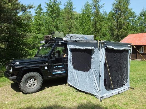 Namiot do markizy samochodwej, zadaszenie boczne do namiot dachowy