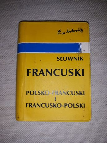 Mini słownik polsko -francuski francusko-polski