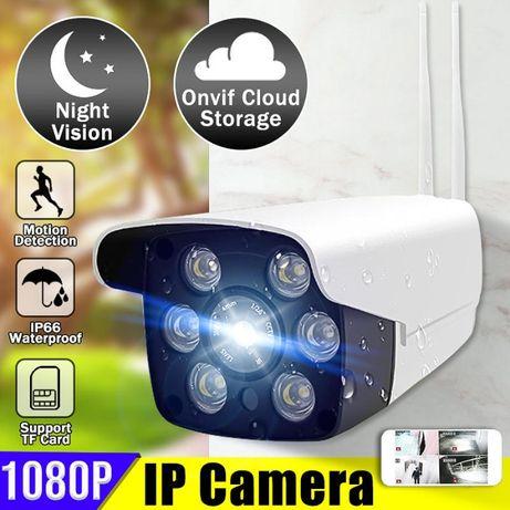 Camera Vigilancia CCTV Prova d Agua WIFI 1080P Visao Noturna NOVA
