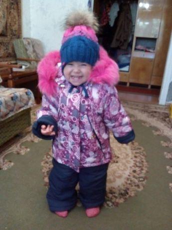 Продам зимний комбез+курточка, 2-3 года