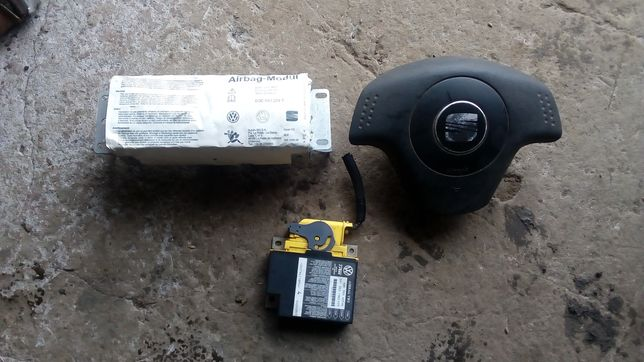 Airbag seat ibiza, cordoba, sensor, poduszki powietrzne