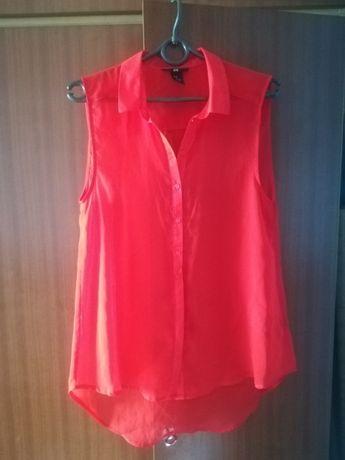 H&M czerwona koszula
