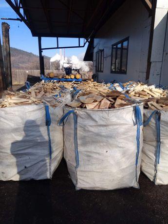 Drewno opałowe ciętę 25-30cm Świerk BigBag czyste TRANSPORT GRATIS