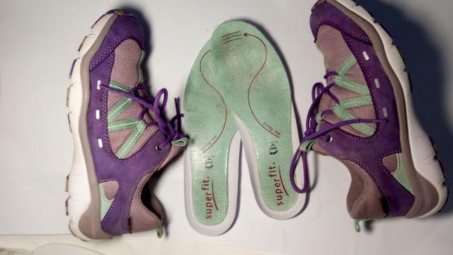 Детские кожаные кроссовки superfit gore-tex 33 р 21,7 см оригинал