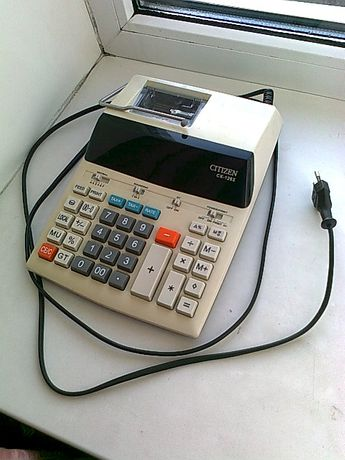 Калькулятор Citizen CX-126 II ;