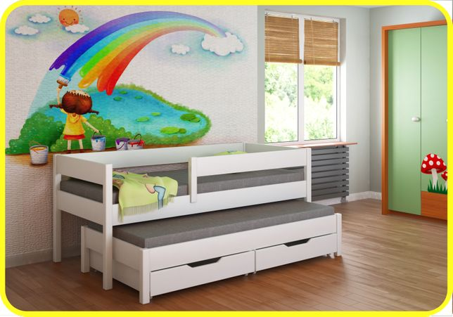Детская подростковая кровать 160x80 180x80 200x90 Junior Польша !! -Ки