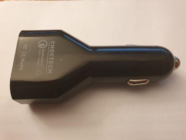 Ładowarka Samochodowa 4x USB Choetech Quick Charge 2.4A