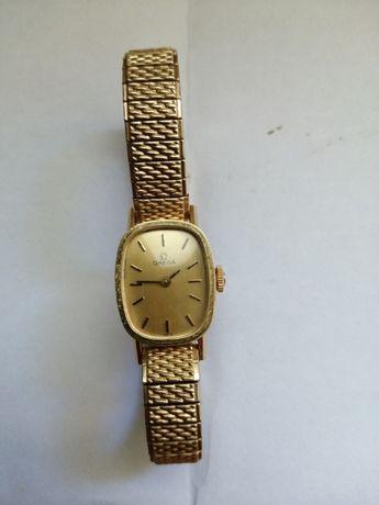 Omega damski zegarek lite złoto
