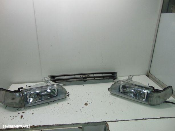 Toyota corolla ee90 farois como novos