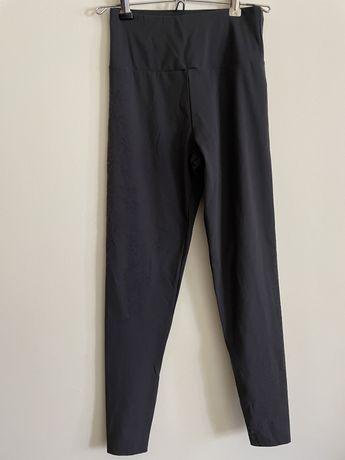 Leggings cinzentas (escuras) tamanho xs