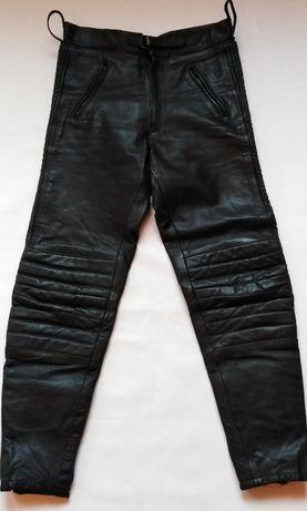 LOUIS Spodnie męskie skóra naturalna rozmiar 52 L
