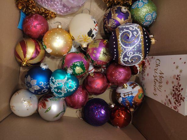 Новогодние игрушки,шары на ёлку,герлянда, бусы на ёлку