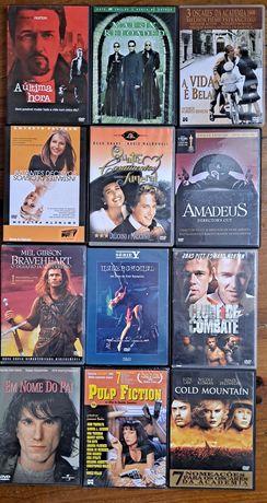 Conjunto 43 filmes em DVD