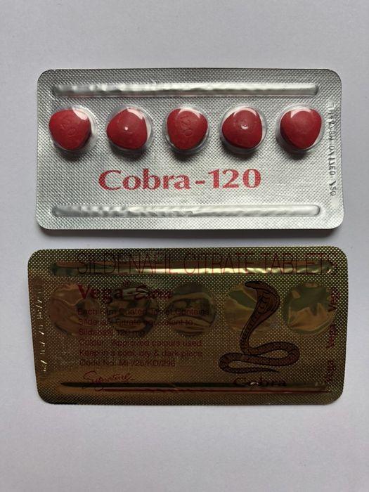 Kamagra Cobra 120 suplementy na potencję !Oryginał!Uwaga na podróbki! Warszawa - image 1