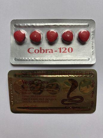 Kamagra Cobra 120 suplementy na potencję !Oryginał!Uwaga na podróbki!