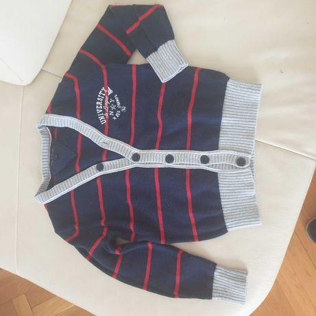 Sweterek rozpinany 110 tommy HILFIGER 4 lata