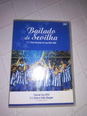 DVD futebol clube do Porto bailado de Sevilha