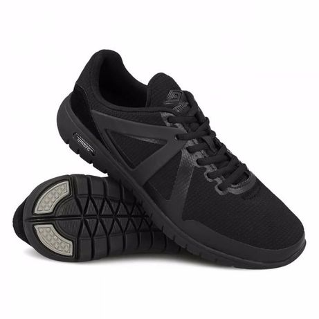 Новые кроссовки UMBRO VELO BLACK&BLACK (Original)