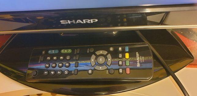 Tv lcd   SHARP   Aquos 20 cali   do kamper przyczepa jacht