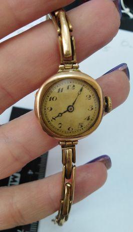Часы Buren 15 jewels 375 проба