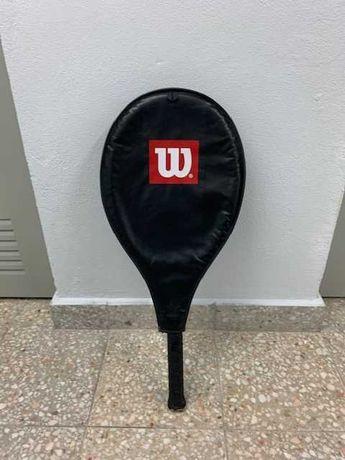 Raquete de ténis Wilson midplus com capa
