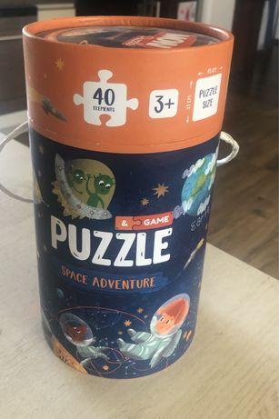 Puzzle space adventure
