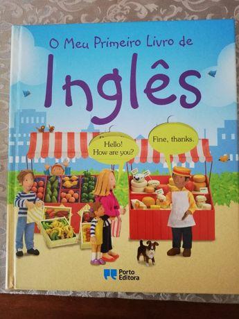 O meu primeiro livro de Inglês.