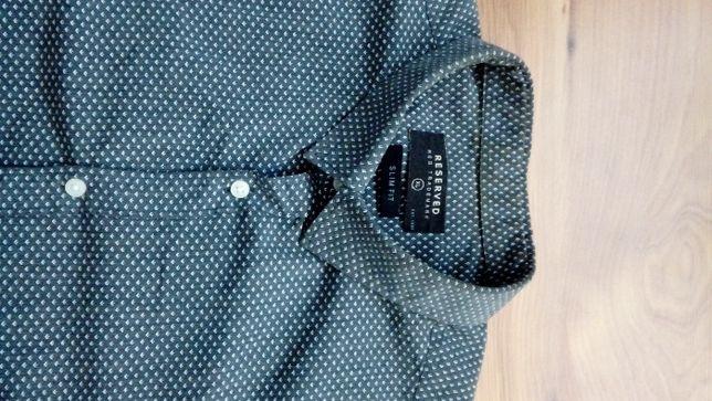 koszula męska we wzory Reserved