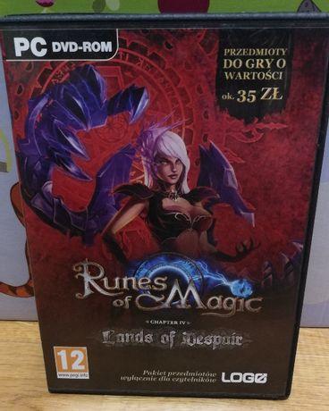 Runes of Magic Lands of Despair DVD jak nowa