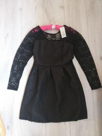 Nowa sukienka z koronką