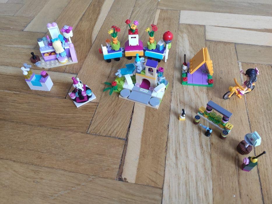 Lego Friends Zestaw toaletka+ pociąg+ domek królika+ scena+ akcesoria Poznań - image 1