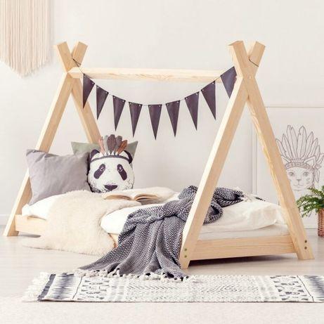 Ліжко вигвам вігвам  кровать  масив  з дерева домик дерево