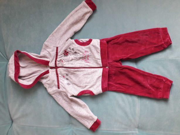 Спортивный костюм велюровый Бемби для девочки 1-2 года