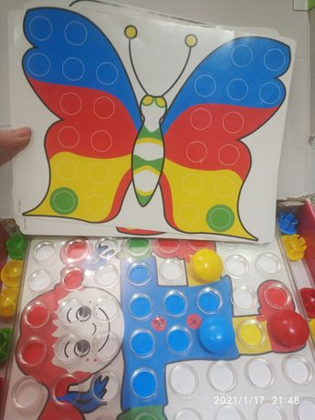 Мозаика Quercetti Fantacolor Junior (