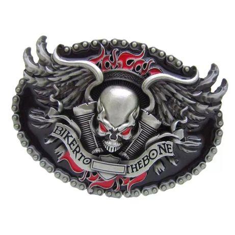 "Klamra motocyklowa "" Biker to The bone """