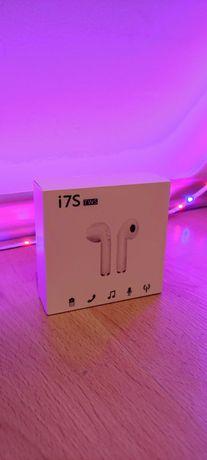 Nowe bezprzewodowe słuchawki i7S BT