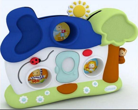 Домик ночник, подвеска на кроватку Smoby Cotoons