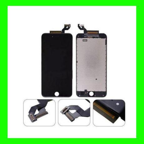 Дисплей iPhone 6s + рамка Black Модуль 6 ес Тачскрин Сенсор LCD Айфон