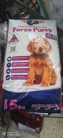 ração para cachorros  alta qualidade 15 kg 32 por cento de proteína 20
