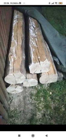 Witam serdecznie posiadam na sprzedaż 5 belek drewnianych
