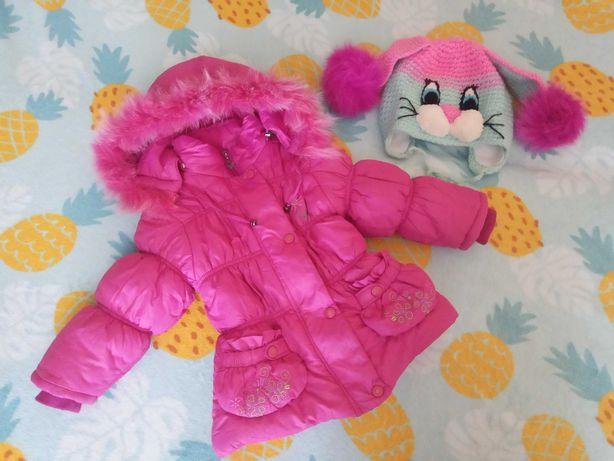 Зимняя куртка p.98-104 см
