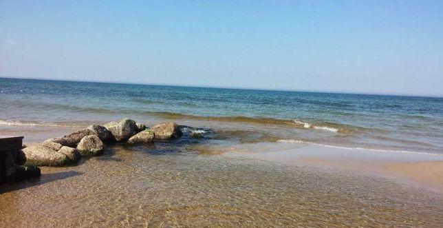 Piękna działka nad samym morzem