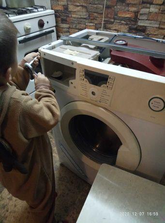 Ремонт стиральных, посудомоечных, сушильных машин.микроволновок.