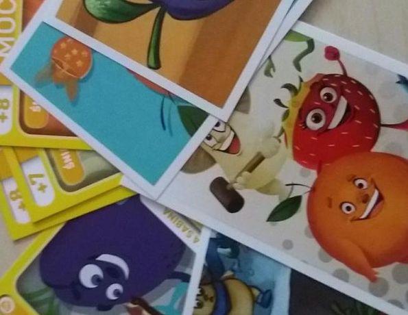 Karty Naklejki Gang Świeżaków Świątecznie Biedronka