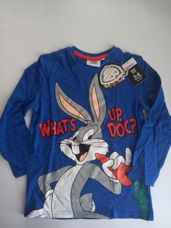 Лонгслив Looney tunes Bugs bunny для детей возрастом 5-6 лет