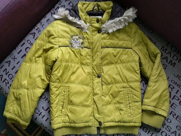 Ciepła kurtka zimowa Reserved Kids r. 128