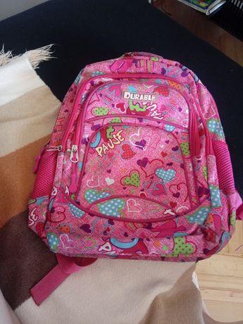 Różowy plecak dla dziewczynki